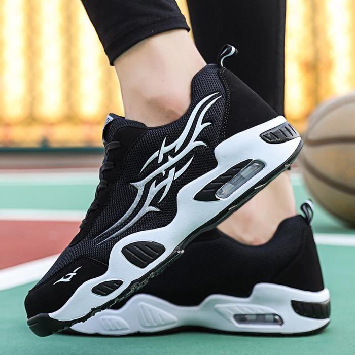 chaussures de sécurité Baskets en maille légères pour hommes d'été Chaussures de course tissées à la mode respirantes