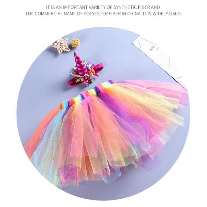 1 ensemble jupe Tutu licorne princesse scène Performance pour accessoires Photo robe de soirée TUTU - JUSTAUCORPS