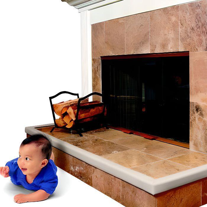 Glissières et coins de protection cheminée