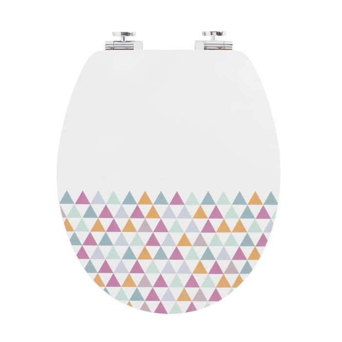 WIRQUIN Abattant trendy line Diplomat décor pastels