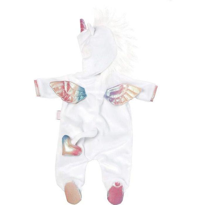 Accessoires poupées - BABY born Pyjama Licorne 43 cm