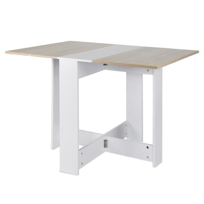 Table Pliante De Cuisine Salle A Manger 103l X 76l X 74h Cm Table