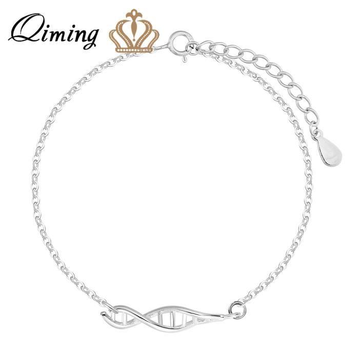 925 Sterling Argent De Mariage Bijoux Gingko Bracelets \u0026 Bracelets Pour  Filles de Fiançailles Perle Bracelet Femmes Bijoux
