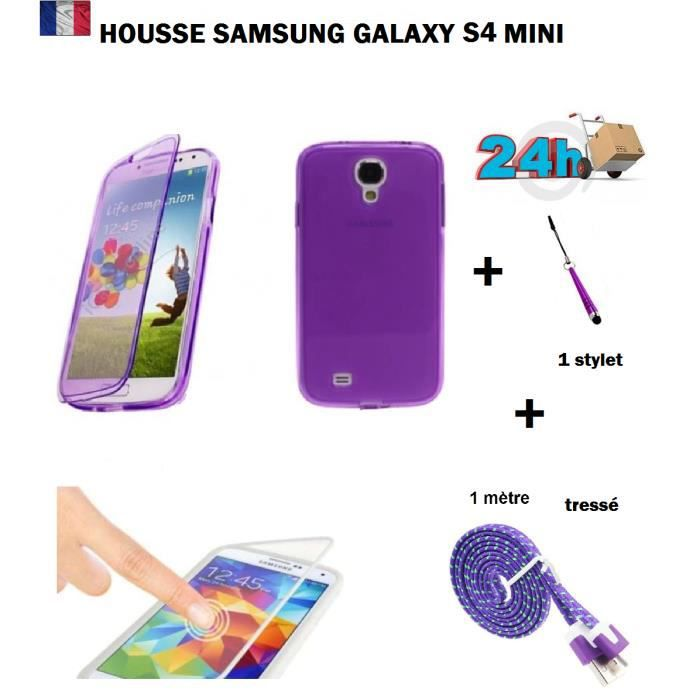 housse de protection samsung galaxy s4 mini achat. Black Bedroom Furniture Sets. Home Design Ideas