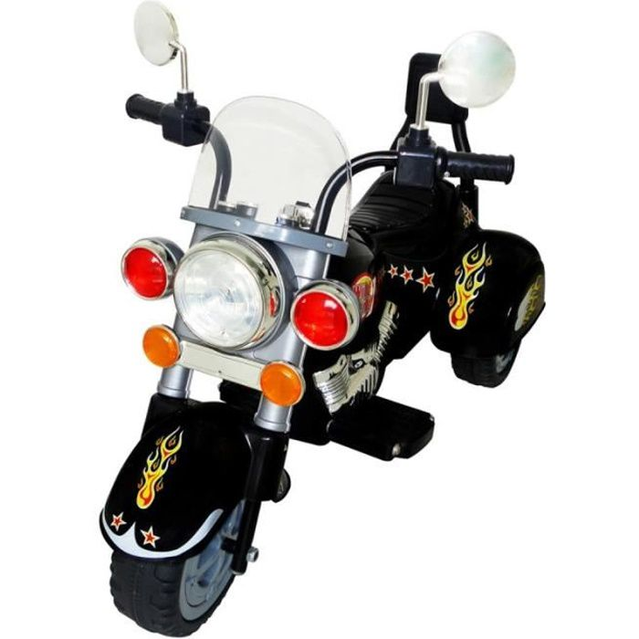 moto lectrique harley pour enfant 3 7 ans jeux jouets 0102010 achat vente moto scooter. Black Bedroom Furniture Sets. Home Design Ideas
