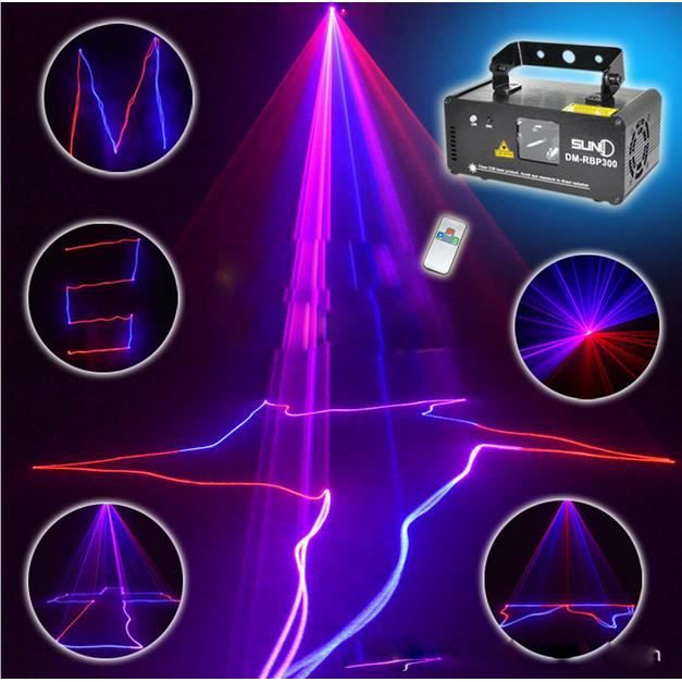 Elenxs laser projecteur disco lumi re projecteur sc ne eclairage rgb led club dj bar show ligne for Projecteur led laser
