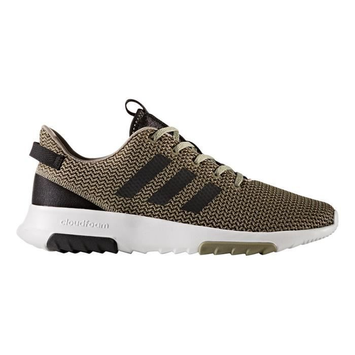 competitive price 8974b 97fb4 Chaussures adidas neo CF Racer TR vert noir blanc