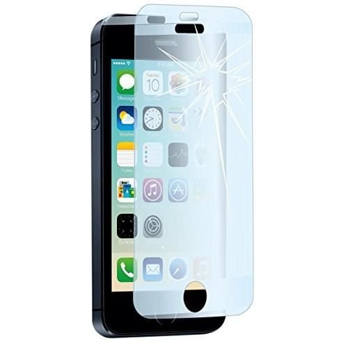 muvit 1 film epais verre trempe iphone 5 5s achat film protect t l phone pas cher. Black Bedroom Furniture Sets. Home Design Ideas