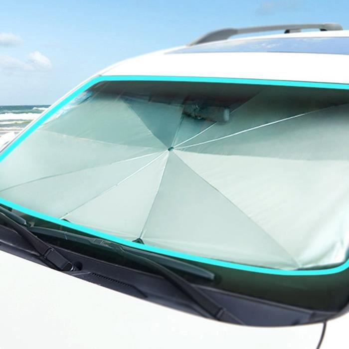 A Pare-soleil pare-soleil pare-soleil pare-brise de voiture bloque les rayons UV chauffent le protecteur de pare-soleil pare-brise pliable pare-soleil de voiture parapluie SunShade