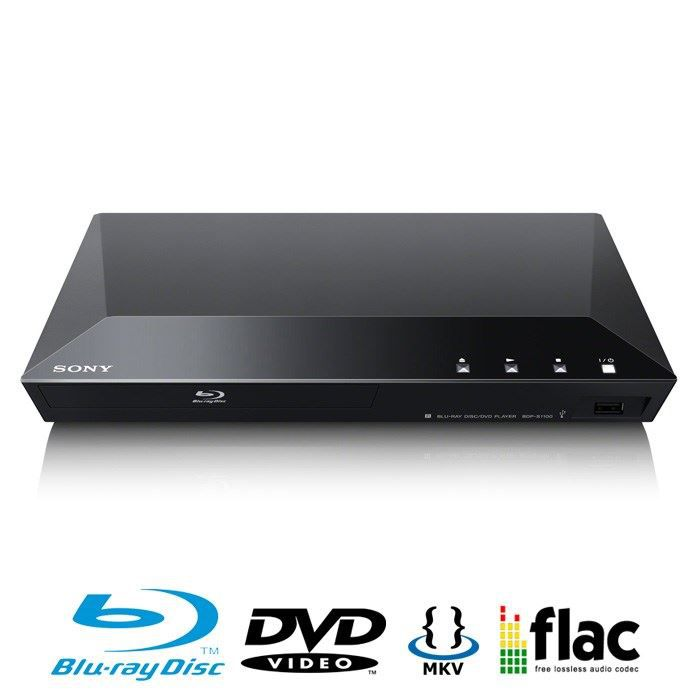 sony bdp s1100 lecteur blu ray achat vente lecteur hd dvd sony bdp s1100 bon march. Black Bedroom Furniture Sets. Home Design Ideas