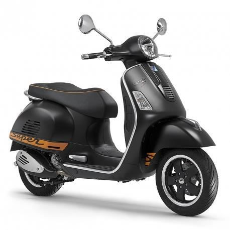 vespa gts supersport 125cc noir mat achat vente. Black Bedroom Furniture Sets. Home Design Ideas