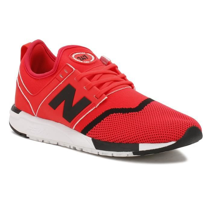 New Balance Hommes Rouge - Noir 247 Sport Basket aa73A7y