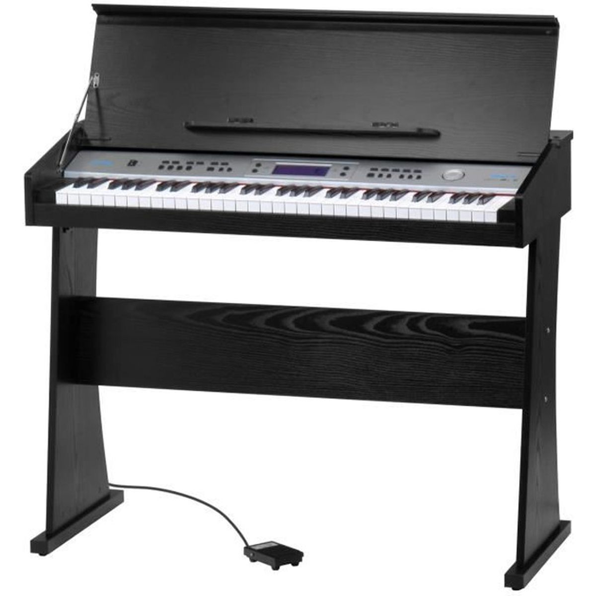funkey dp 61 ii piano num rique support noir pas cher. Black Bedroom Furniture Sets. Home Design Ideas