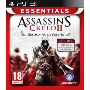 JEU PS3 ASSASSIN 2 GOTY ESSENTIALS / Jeu console PS3