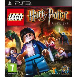 JEU PS3 LEGO HARRY POTTER ANNÉE 5 À 7 / Jeu console PS3