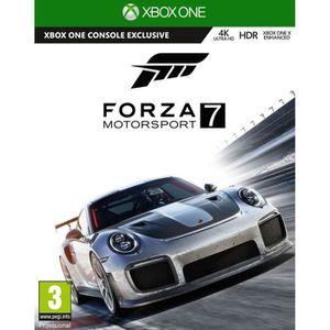JEU XBOX ONE Forza Motorsport 7 - Jeu Xbox One