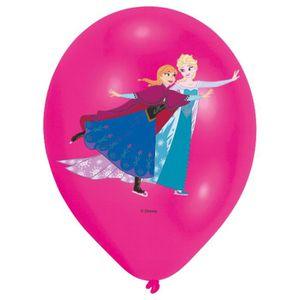 BALLON DÉCORATIF  AMSCAN 6 Ballons latex Reine des Neiges - Disney I