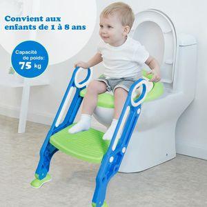 Keraiz R/éducteur WC avec /échelle pour tout-petit Bleu