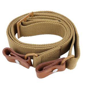 HARNAIS - BAUDRIER Couleur de boue de ceinture de corde de ceinture d