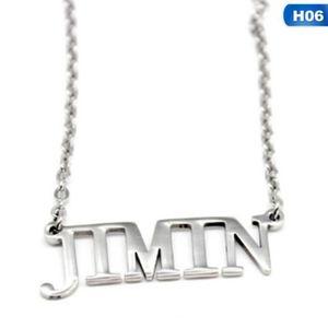 Bague de collier Kpop Bangtan gar/çons BTS Titanium Anneaux Suga Jimin Jin Hot Cadeau aussi comme cadeau de No/ël