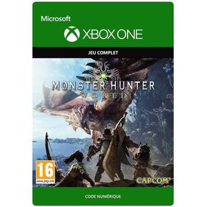 JEU XBOX ONE À TÉLÉCHARGER Monster Hunter World Jeu Xbox One à télécharger