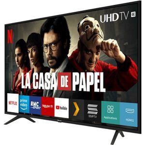 Téléviseur LED Hisense - Smart TV Ultra HD 65