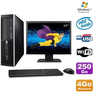 ORDI BUREAU RECONDITIONNÉ PC complet HP Elite 6000 Pro SFF E5400 2.7Ghz  160