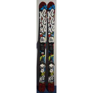 SKI Ski parabolique Junior K2 Indy + Fixations