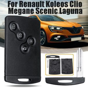 Renault Clé Carte Coque Talisman SCENIC MEGANE 4 Kadjar Clio Captur Marron