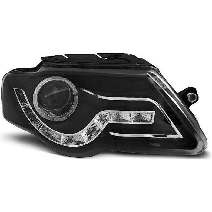 Paire de feux phares VW Passat B6 3C 05-10 Daylight noir WF7