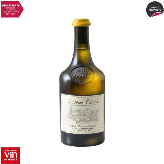 Château-Chalon Vin jaune Blanc 2013 - 62cl - Domaine Jean-Luc Mouillard - Vin AOC Blanc du Jura - 92-100 La Revue du Vin de France