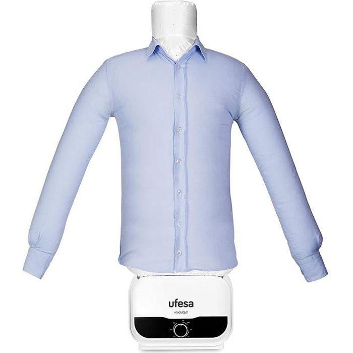 UFESA SV1200 - Mannequin 2 en 1, Repassage et Séchage Automatique 1200 W, Elimine les plis, Désodorise et Neutralise les odeurs, plu