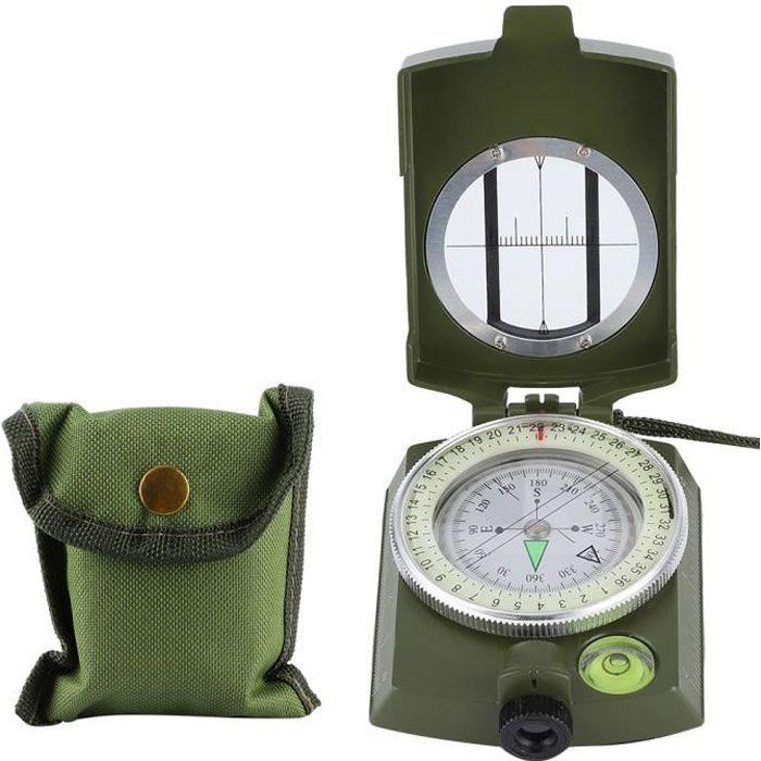 Boussole de navigation, boussole de camping professionnelle, camping pour l'escalade en plein air, randonnée