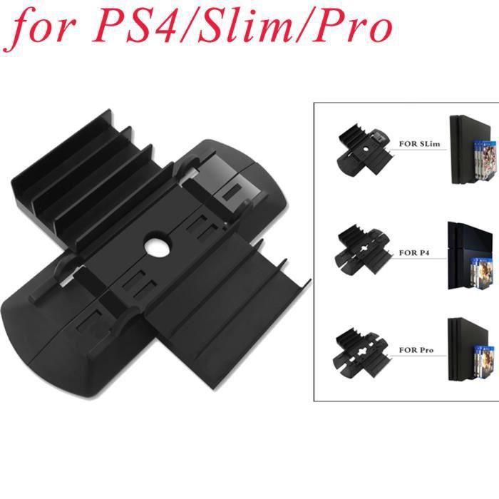 Support de montage sur socle vertical intégré pour le stockage de disque PS4 Slim Pro et de jeu @Mishuowoti 684