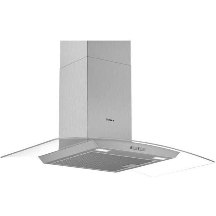 Bosch Serie 2 DWA94BC50 Hotte hotte décorative largeur : 90 cm profondeur : 48.8 cm extraction et recirculation (avec kit de…