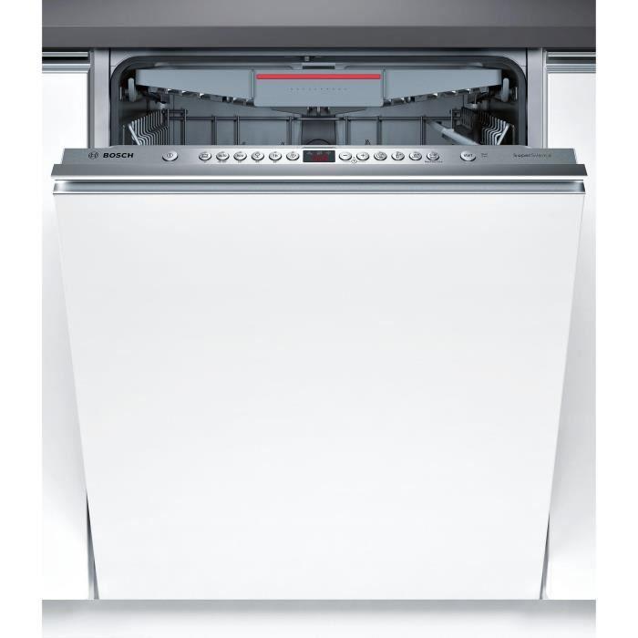 bosch - lave-vaisselle 60cm 14c 44db a++ tout intégrable - smv46nx03e