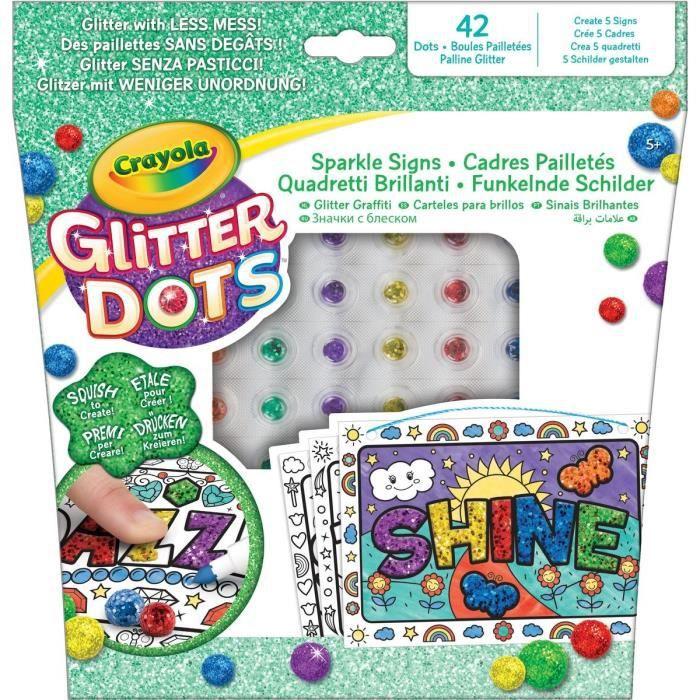 CRAYOLA Glitter Dots: Sparkle Signs Refresh (