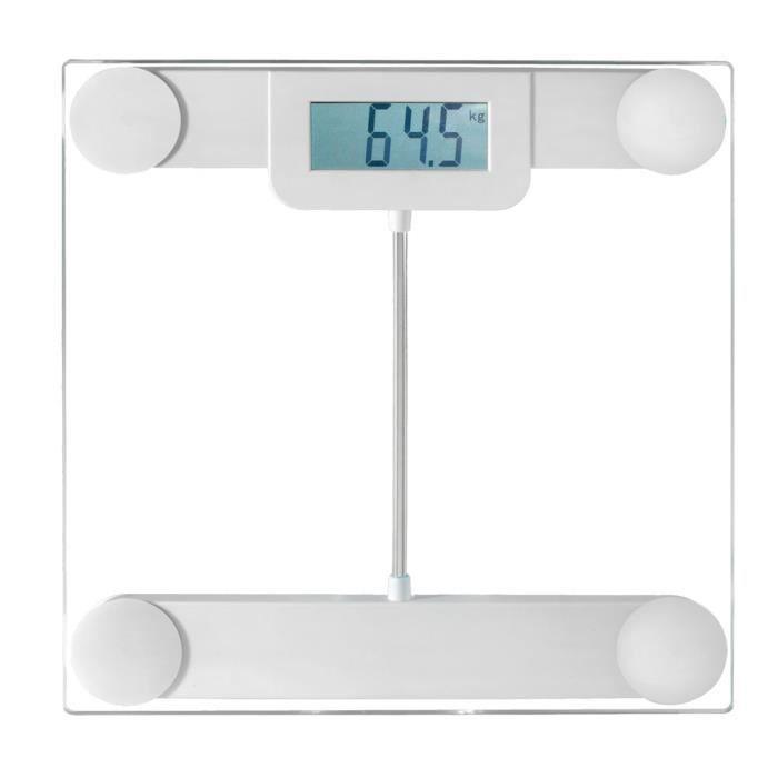 Pèse personne Blanc - DomoClip DOM253W