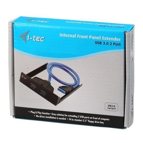 I Tec Hub Usb Usb Baie Pour Disque/Lecteur 2 Total Usb Port(S) 2 Usb 3.0 Port(S)