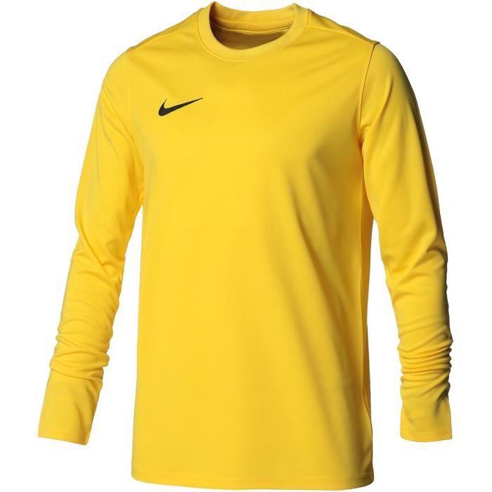 NIKE Maillot de football Dri-FIT Park VII - Homme - Tour jaune et noir