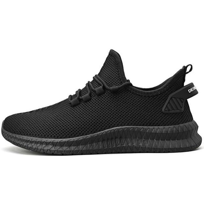Chaussures de sport pour hommes, Flying Woven Mesh-Black