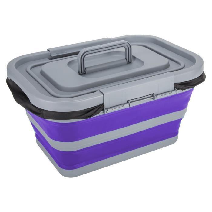 Summit sac isotherme pliable 60 x 23 x 26 cm violet 18 litres