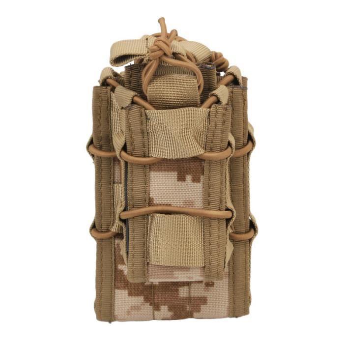 Attachement Sous-emballage Système MOLLE Gilet Kit d'accessoires Stockage Plusieurs poches Sac à dos Molle SAC A DOS DE RANDONNEE
