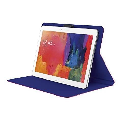TRUST Aeroo Étui Folio Univ pour Tablette 10'' - Rose et bleu