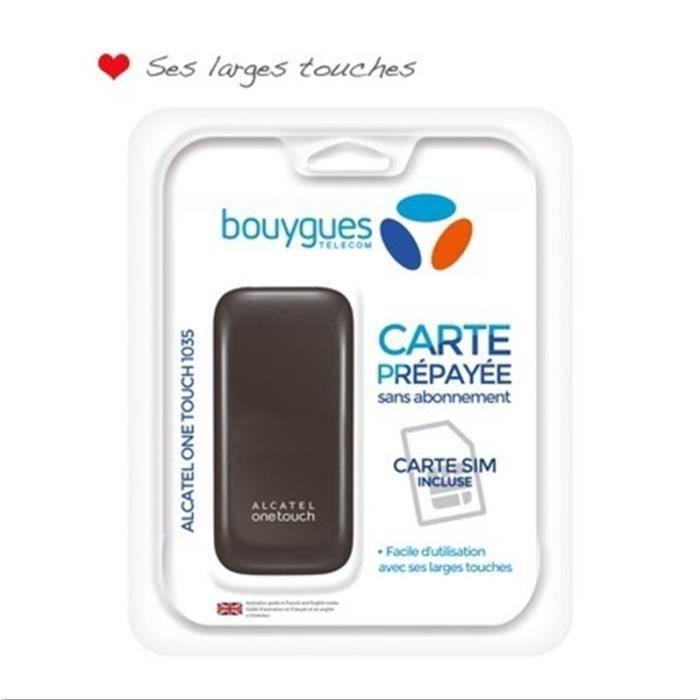 Pack Bouygues Telecom Alcatel 1035 Achat Telephone Fixe Pas Cher