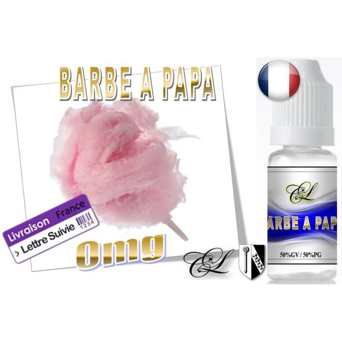 e liquide lc1 barbe a papa 0mg 10ml fr achat vente liquide e liquide lc1 barbe a. Black Bedroom Furniture Sets. Home Design Ideas