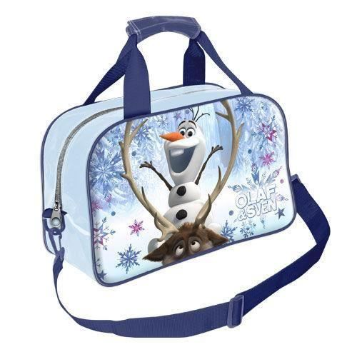olaf et sven sac de sport voyage pour enfants fan de frozen la reine des neiges disney filles et. Black Bedroom Furniture Sets. Home Design Ideas