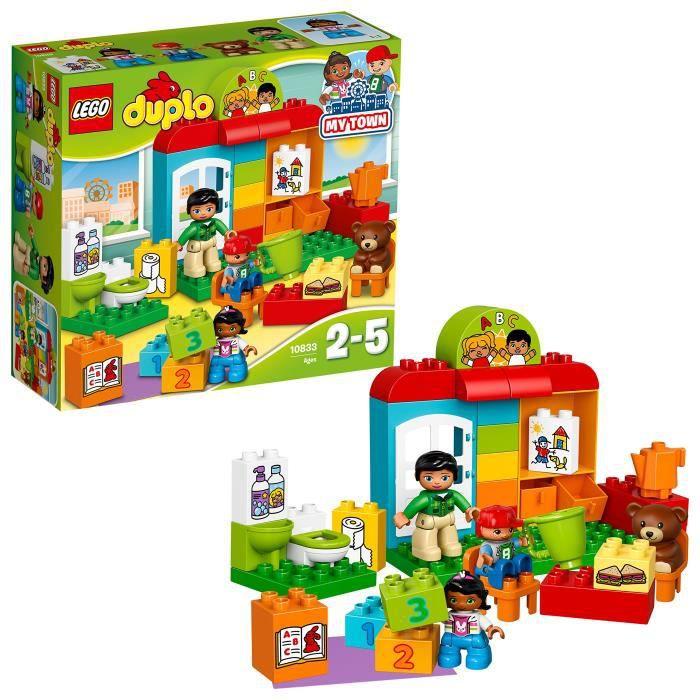 Calendrier Avent Duplo.Lego Duplo Ville De Construction Prescolaire Blocs Pour Enfants De 2 A 5 Ans 39 Pcs 10833 Apc16