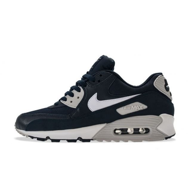NIKE AIR MAX 90 ESSENTIAL BLEU Achat Vente basket
