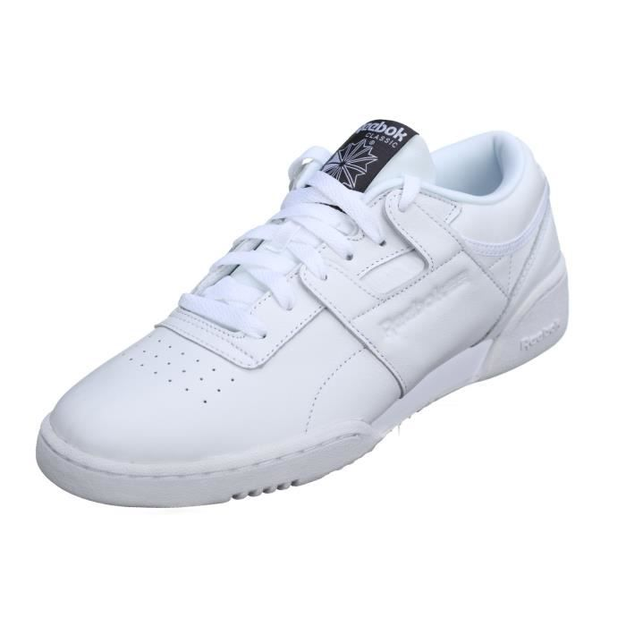 Basket Reebok Workout Lo Clean Id Bs9831 White kPZ3ruo